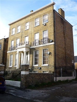 Photo:The house which still stands at 13 Laura Place was an early Salvation Army rescue home