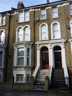 Photo:Working mothers lodged at 17 Glenarm Road in Lower Clapton.
