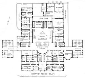 Built 1903 6 New Administration Block Hackney Hospital