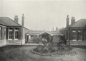 Photo:The bungalow style chalets, c.1927.