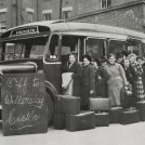Photo:Evacuation to Willersley Castle, c.1940