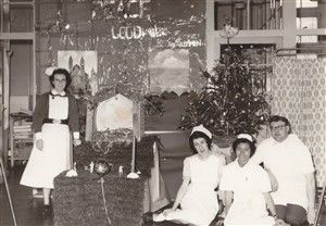 Image accompanying MP3 audio clip: Christmas on the ward ( KB)