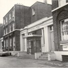 Photo:Exterior of the Mothers' Hospital from Lower Clapton Road, 1970 (catalogue reference: SBHF/PG/4)