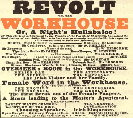 Photo: Illustrative image for the 'Shoreditch Workhouse (1777-1862)' page
